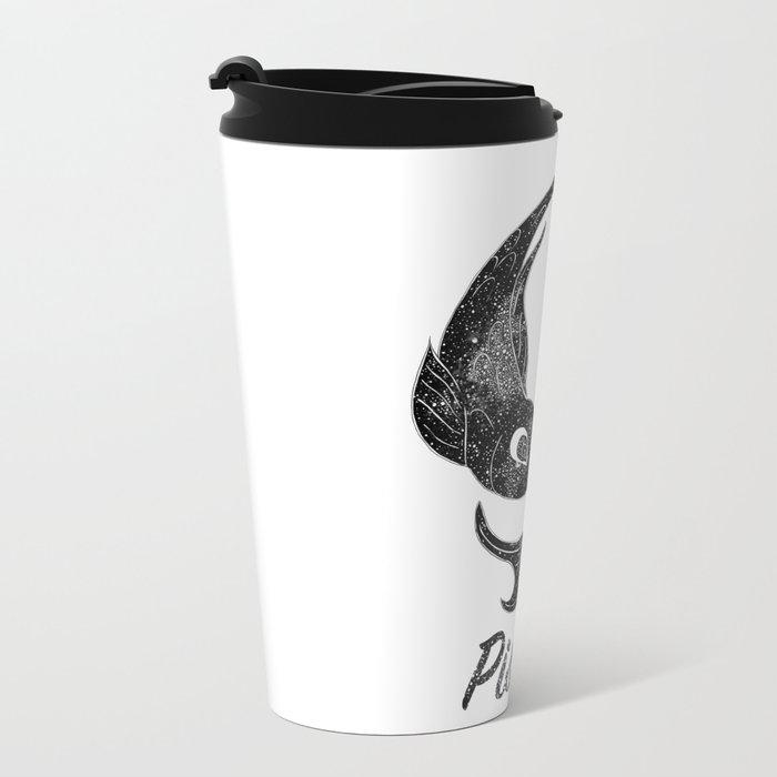 Pisces Metal Travel Mug