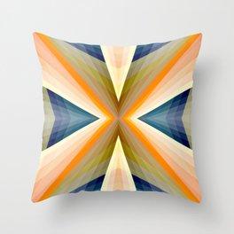 Geometric Mandala 01 Throw Pillow