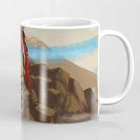 medicine Mugs featuring Medicine Man by gravityjump