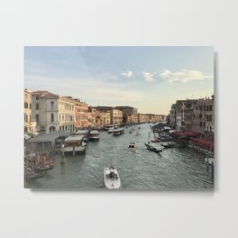 Grand Canal Italy Metal Print