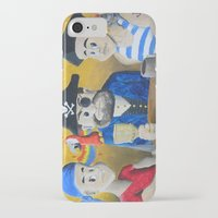 pirates iPhone & iPod Cases featuring Pirates! by Wintoons