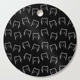 Cute Cat Pattern Cutting Board