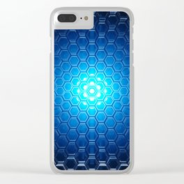 Abstract background pattern Clear iPhone Case