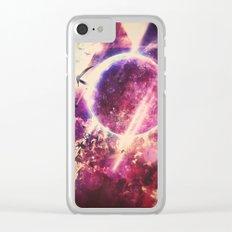 rysyng dyscynt Clear iPhone Case