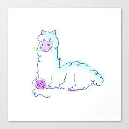 Alpacat Canvas Print