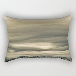 Olympic Mountains Calling Rectangular Pillow