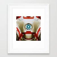 iron man Framed Art Prints featuring IRON MAN Iron Man by Veylow