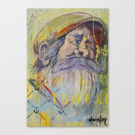 The Captain on Jonah's Boat Canvas Print