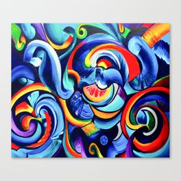 Hurricanes of the Mind Canvas Print
