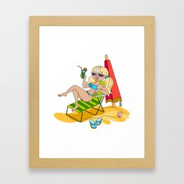 It's Time To Rest Framed Art Print