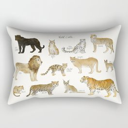 Wild Cats Rectangular Pillow