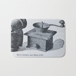 Spice mill Bath Mat