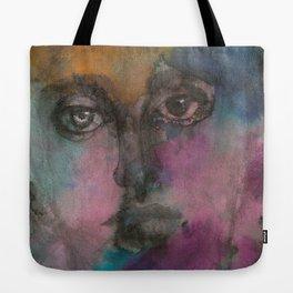 Watercolor Man Tote Bag