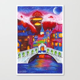 A City Of Dreams - Velaris Canvas Print