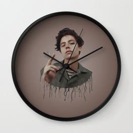DRIPPING MADNESS Wall Clock
