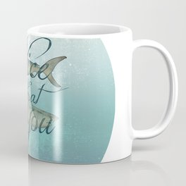 Sharks - Nice To Eat You Coffee Mug