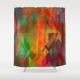 Lattice Work Shower Curtain