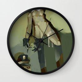TinTin's dog  Wall Clock