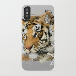 Distant Tiger iPhone Case