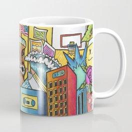 Crazy City Graffiti Style Wall Art Coffee Mug