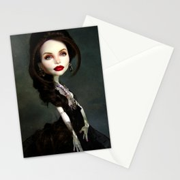 Monster Angelina Doll Stationery Cards