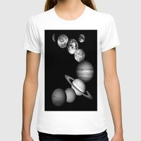 solar system T-shirts featuring the solar system by Galaxy Dreams