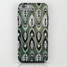 Pierrot II/Memoir Pattern iPhone Case