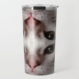 4eyed kitty cat Travel Mug