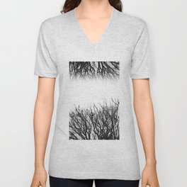 Scorched Branches Unisex V-Neck