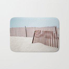 Beach Fence Bath Mat