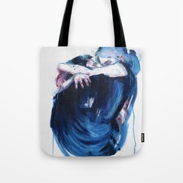 the noise of the sea Tote Bag