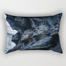 Sculpture in Oakland Rectangular Pillow