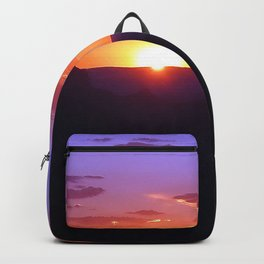 Colorful Grand Canyon Sunset Backpack
