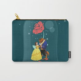 Beauty and the Beast Rose Carry-All Pouch