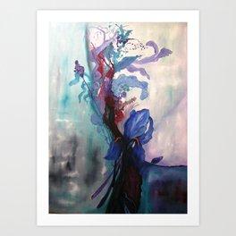 Le Bouquet Art Print