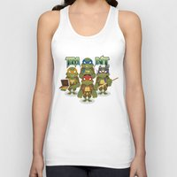 tmnt Tank Tops featuring TMNT by Micka Design