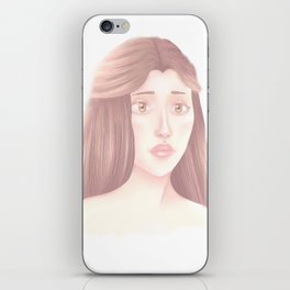 Grey Pearl iPhone Skin