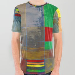 MidMod Rainbow Pride 2.0 All Over Graphic Tee
