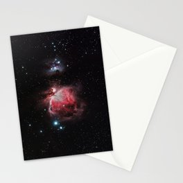 The Great Nebula in Orion Stationery Cards