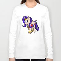 my little pony Long Sleeve T-shirts featuring My Little Wonder Pony! by beetoons