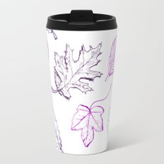Leaves (purple) Travel Mug