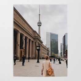 CN Tower Downtown Toronto Poster