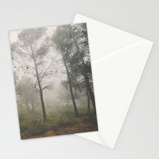 Lost in the fog. Retro Stationery Cards