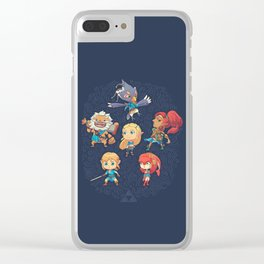 The Cuteness Ballad Clear iPhone Case