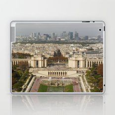 Aerial Paris Laptop & iPad Skin