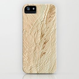 Snow Feathers iPhone Case