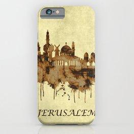 Jerusalem Israel Cityscape iPhone Case