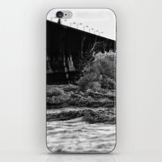 Staring at the sea iPhone & iPod Skin