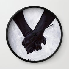 untitled (dead things 06) Wall Clock