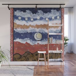If the blue sky is a fantasy, Wall Mural